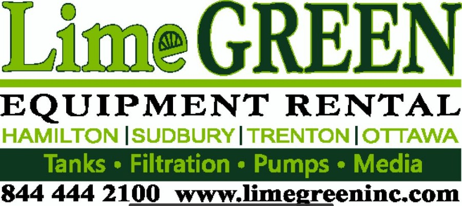 Lime Green Equipment Rental