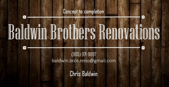 Baldwin Brothers Renovations